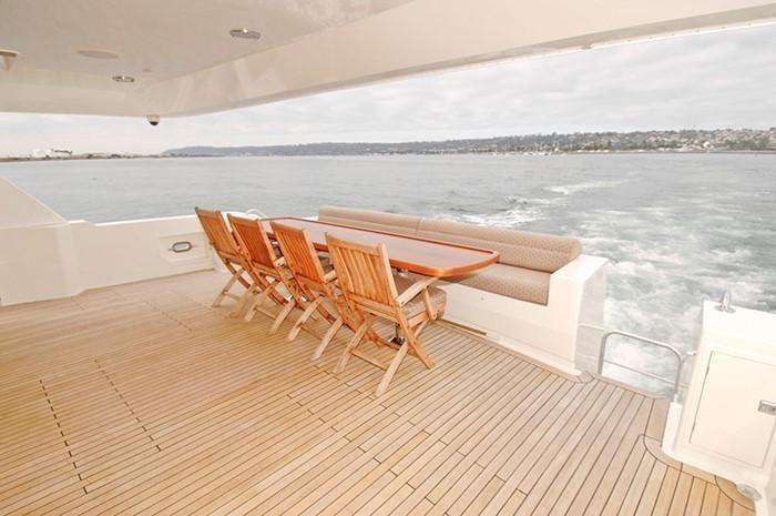 NorthCoast 82 Yacht Aft Deck