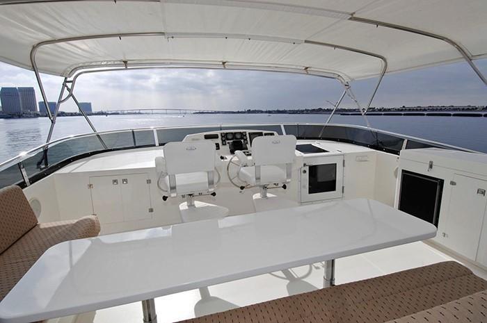 NorthCoast 82 Yacht Flybridge