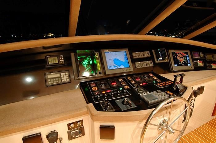 NorthCoast 82 Yacht Helm Controls