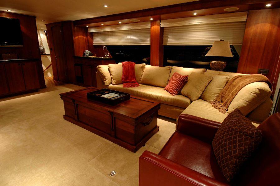 NorthCoast 82 Yacht Interior Salon