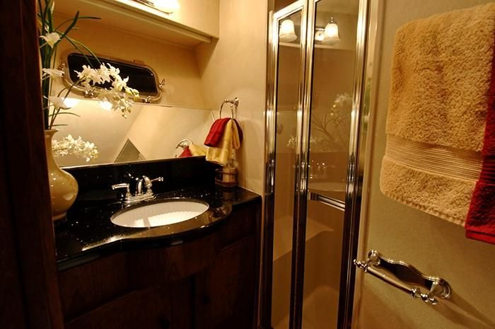 NorthCoast 82 Yacht Shower