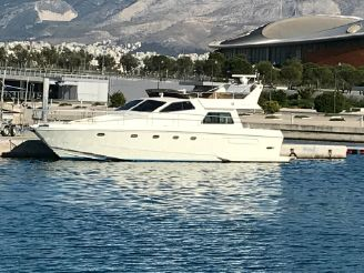 1992 Ferretti Yachts 52S