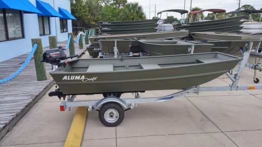 2016 Alumacraft 1036 Package