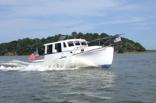 1985 Ellis 28' DOWNEAST/LOBSTER YACHT
