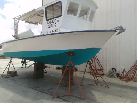 1979 Delta Wheel House 25 Crab Lobster boat