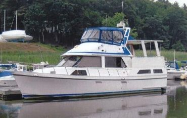 1987 Golden Star 38 Sun Deck Trawler