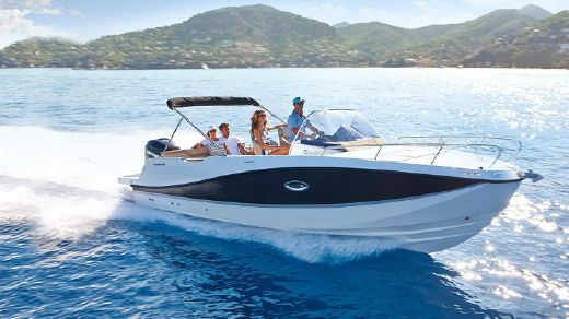 2016 Quicksilver 755 SUN-DECK