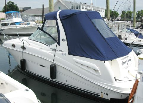 2006 Sea Ray 260 Sundancer TRAILER