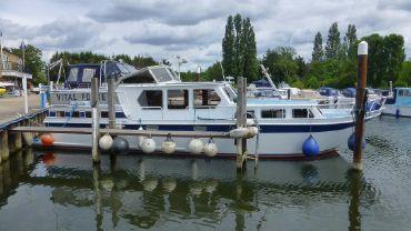 1991 Klass Mulder 13.50 Dutch Steel Cruiser