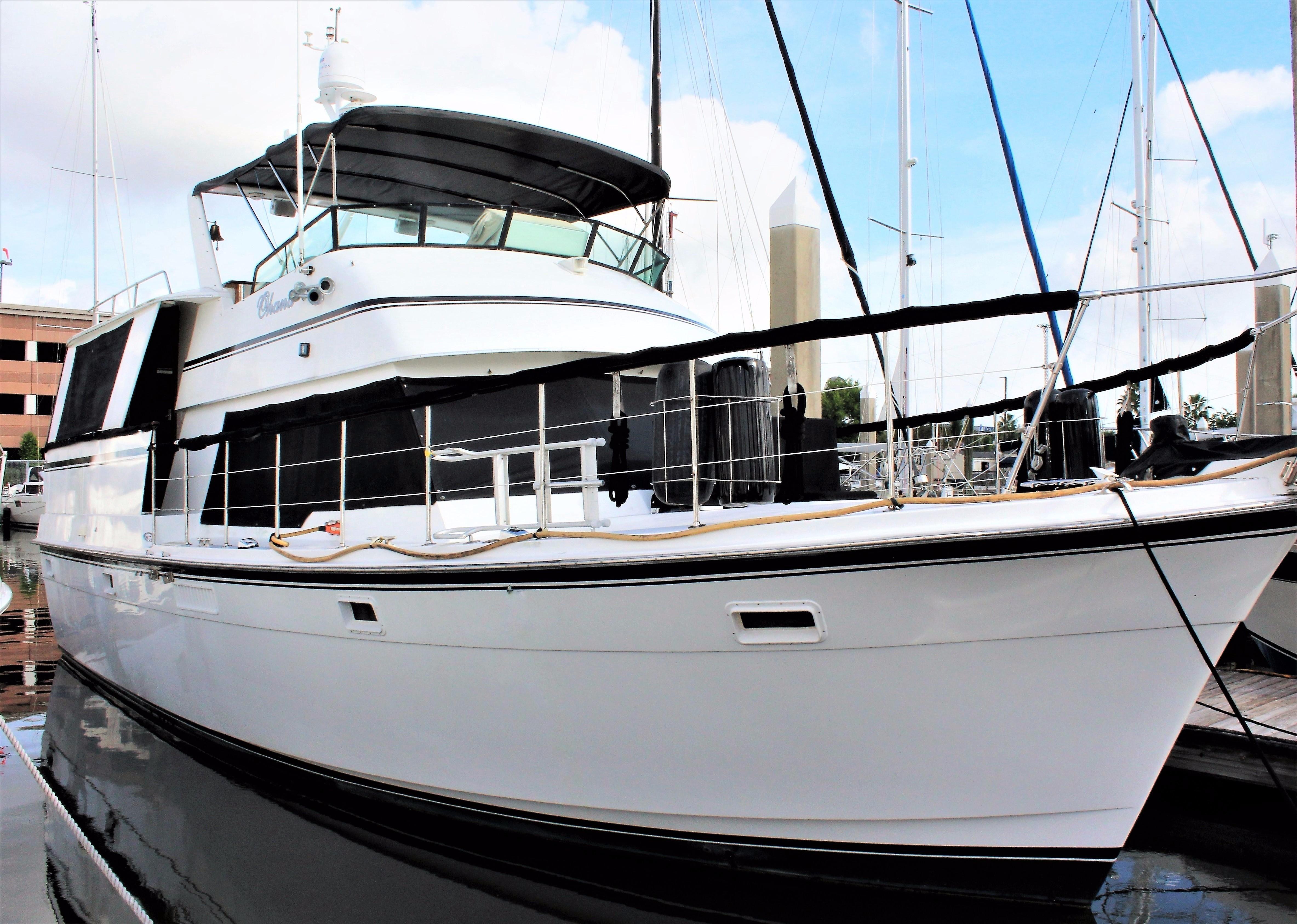 47 Atlantic Motor Vessel: 1986 Atlantic Aft Cabin Motor Yacht Power Boat For Sale