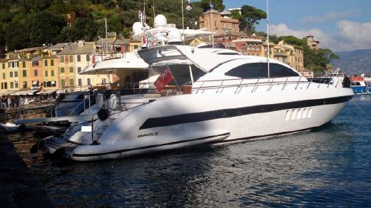 2007 Overmarine, Mangusta 72 Hard Top