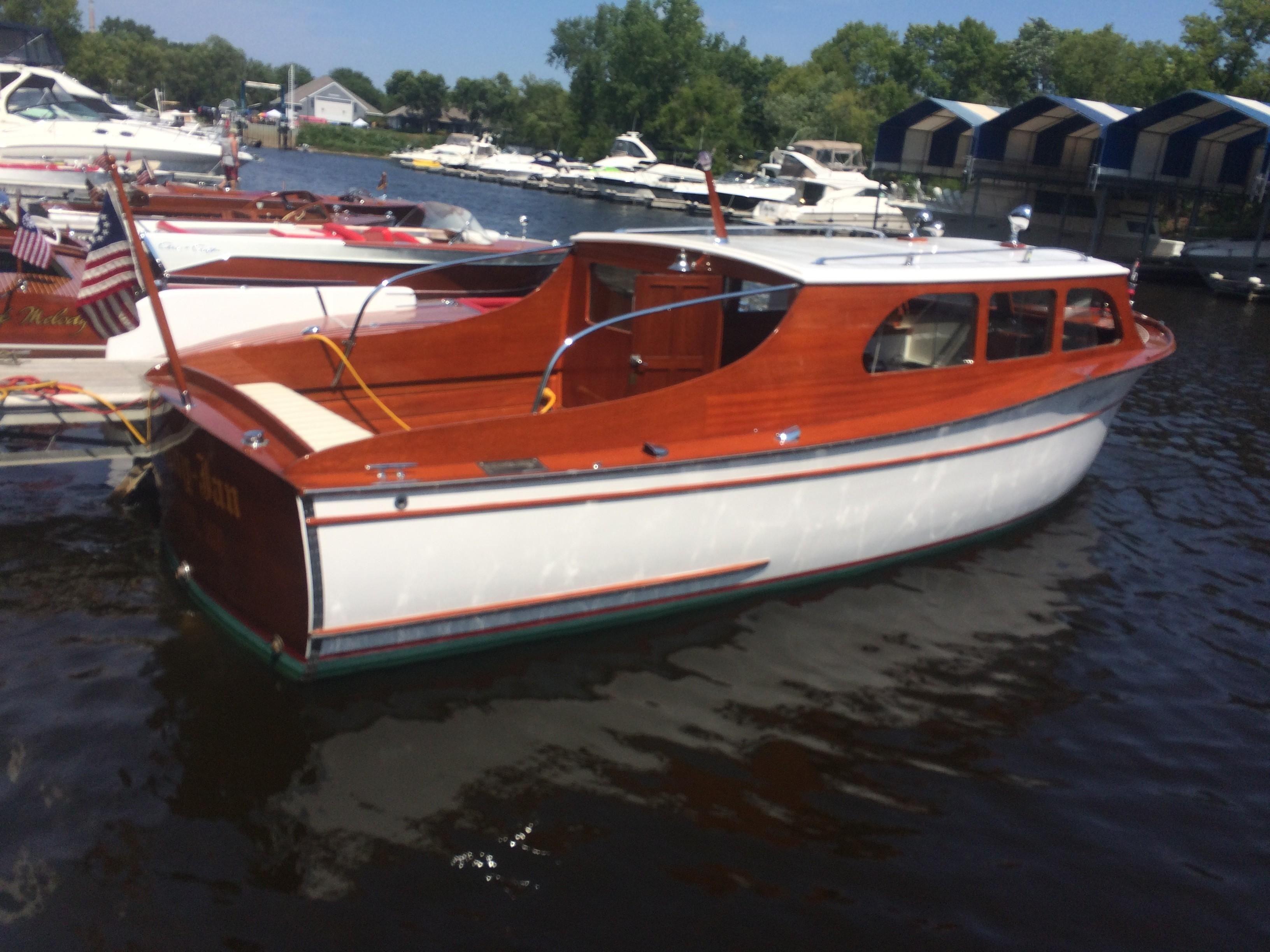 1937 chris craft clipper streamline cruiser power boat for for Chris craft cruiser for sale