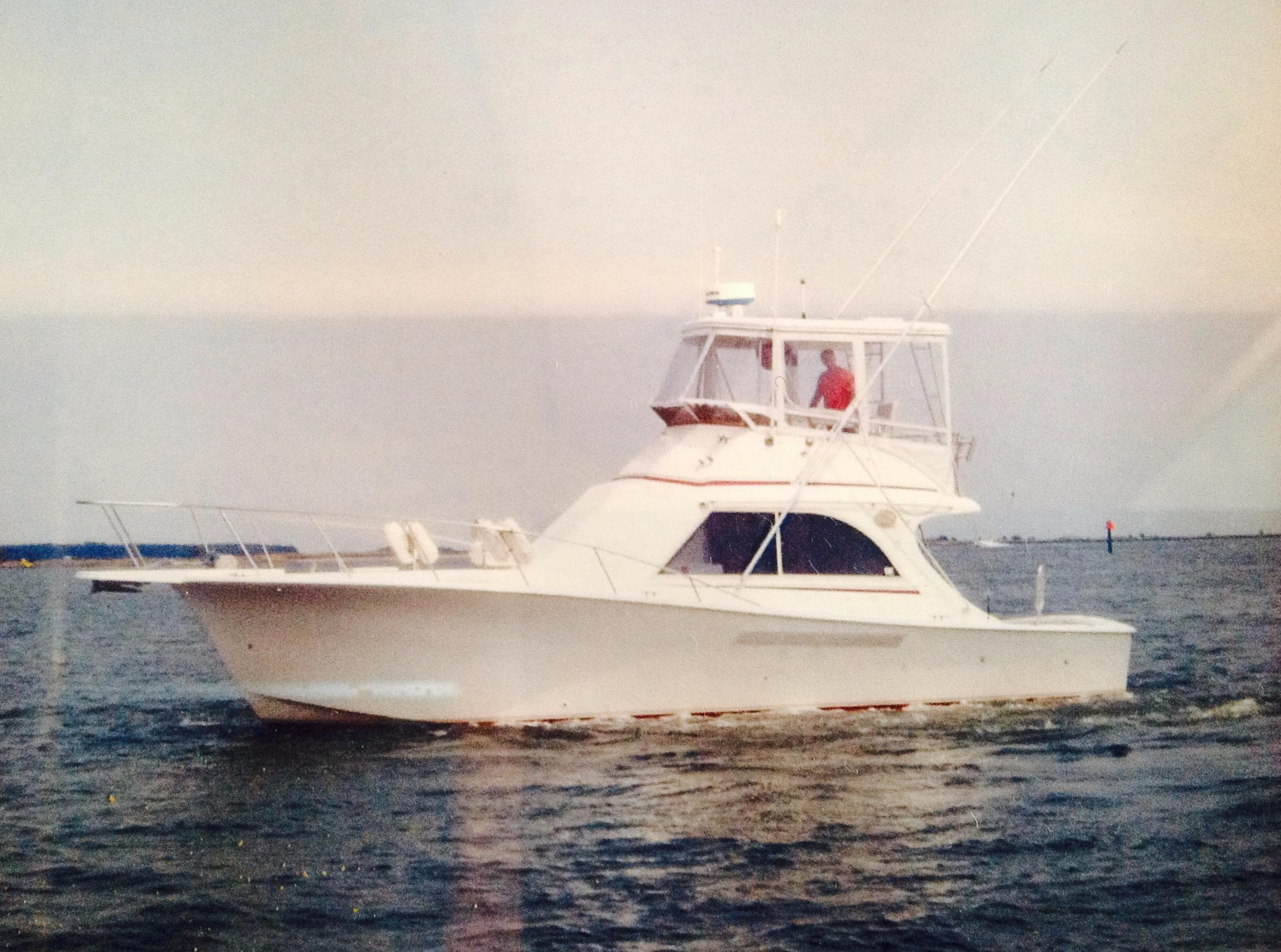 1987 Jersey 36 Convertible Sportfisherman Power Boat For Sale Www