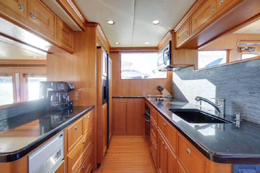 Offshore 64 Yacht Kitchen Galley