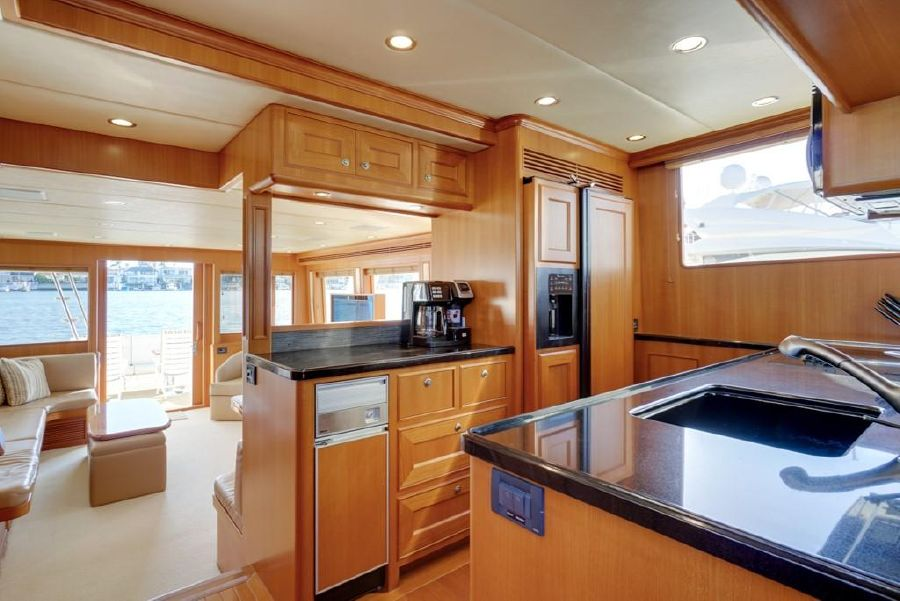 Offshore 64 Voyager Yacht Kitchen Galley