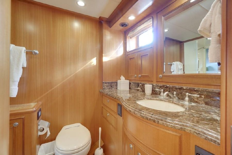 Offshore 64 Voyager Yacht Master Bathroom Sink