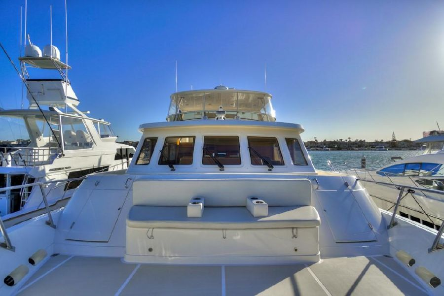 2010 Offshore 64 Cruising Yacht Bow