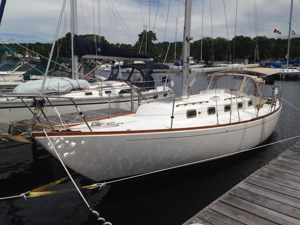 1969 alberg traditional sail boat for sale www for Arred alberg