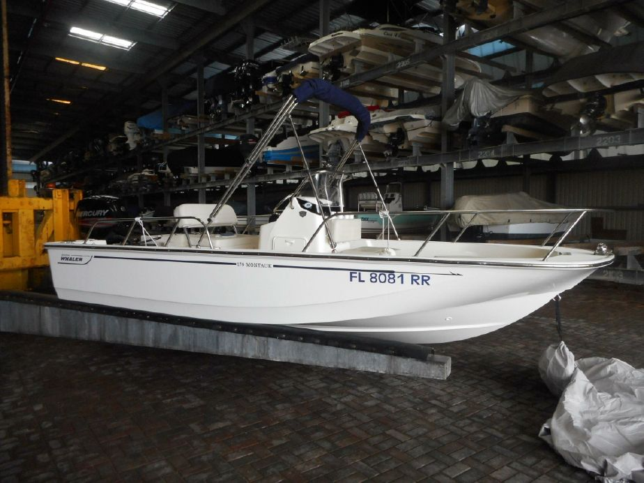 2018 Boston Whaler 170 Montauk Power Boat For Sale - www