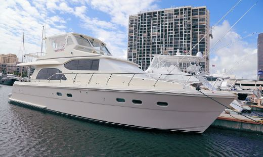 2008 Hampton 580 Pilothouse