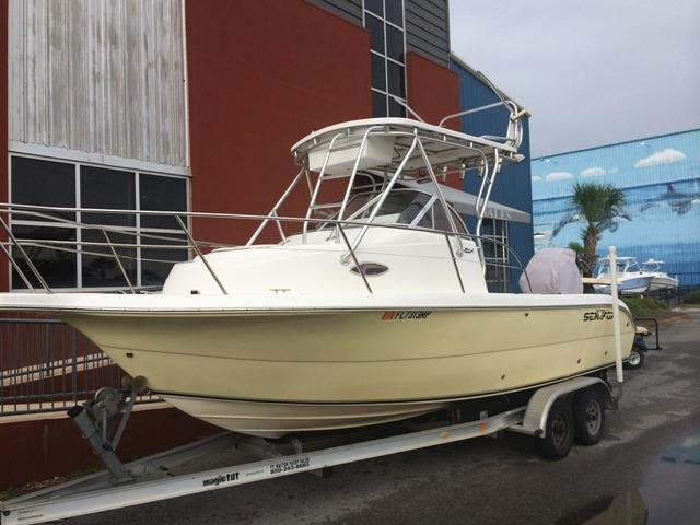 23 ft 2004 seafox 230 wa