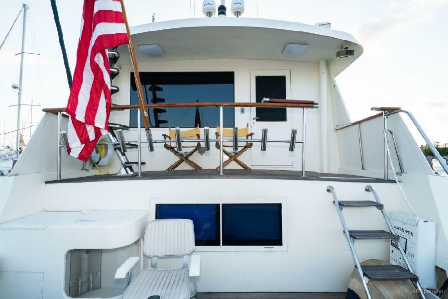 Hatteras 70 Cockpit Motoryacht for sale