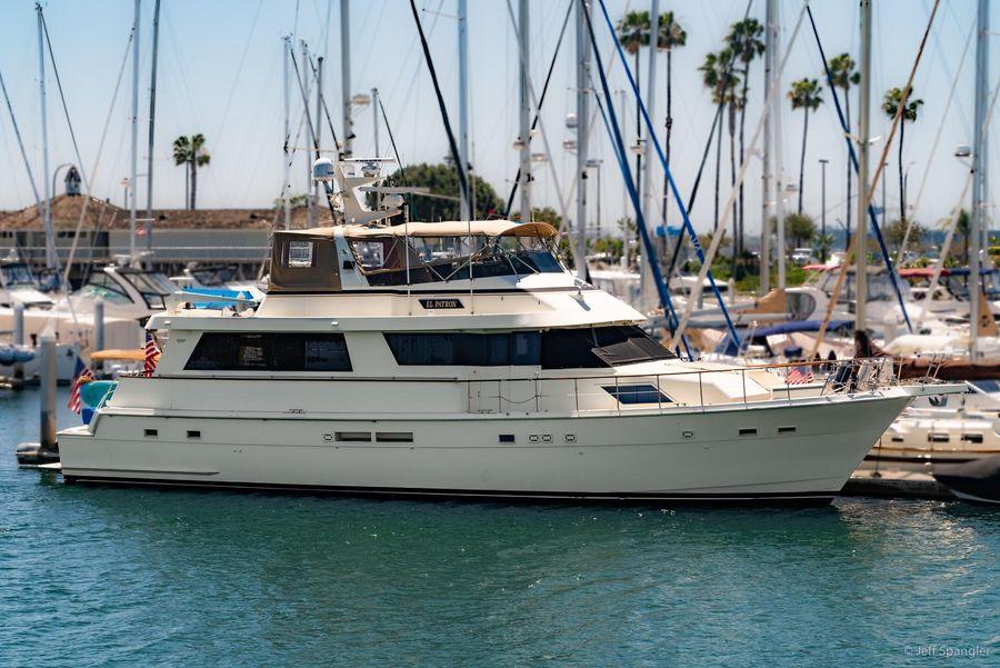 Hatteras 70 Cockpit Motoryacht for sale in San Diego