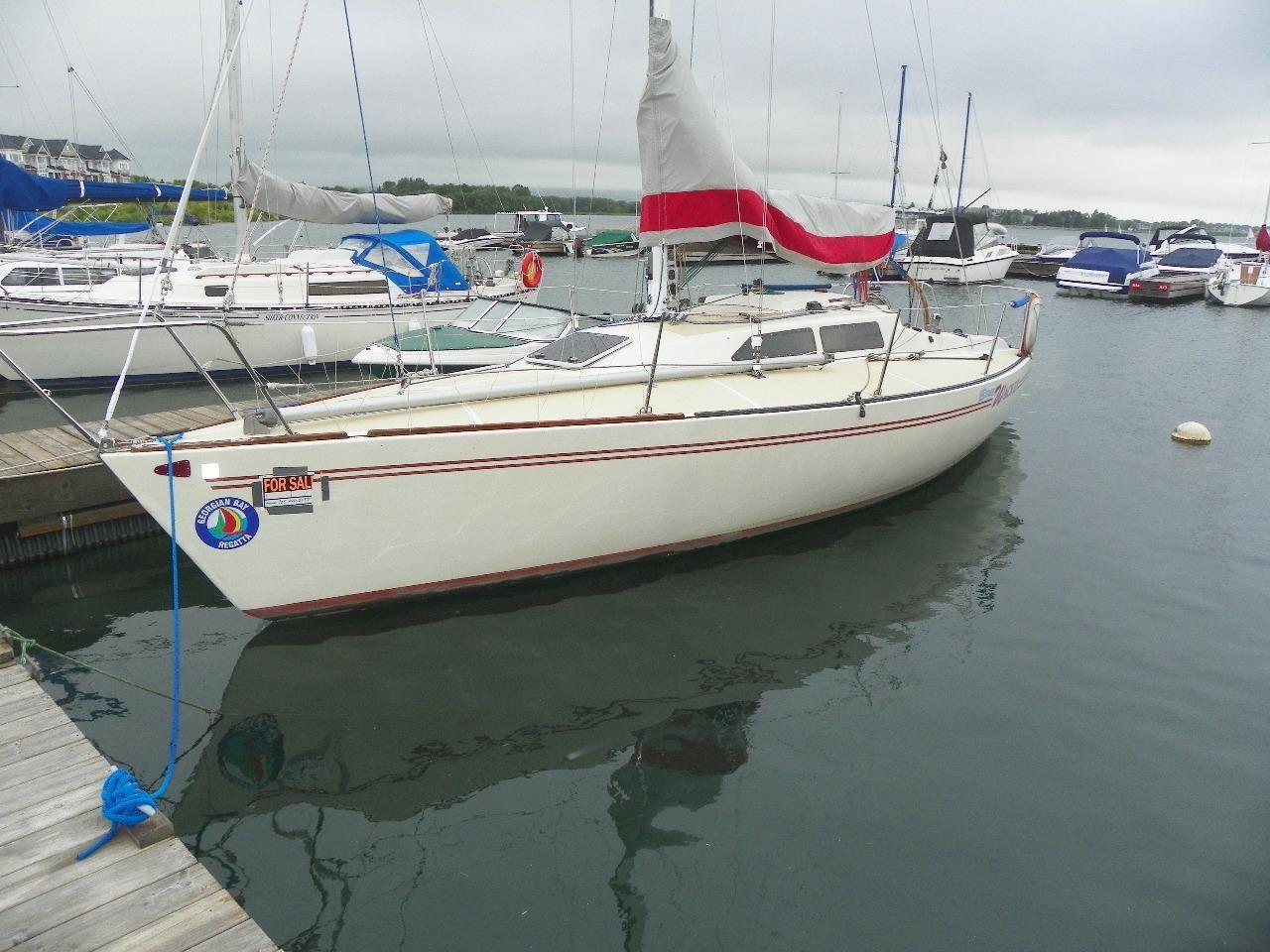 1986 Tartan Soverel 33 Sailboat Transport: 1984 Soverel 33 Sail Boat For Sale