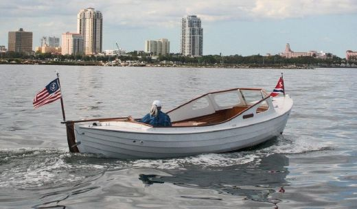 1956 J. Jorgensen Baggnute Norwegian Double-ended Whaleboat