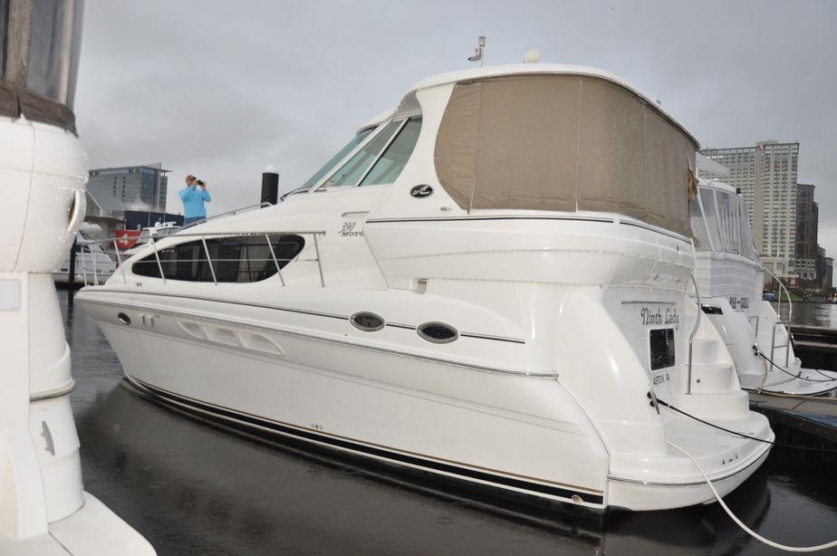2003 sea ray 390 motor yacht