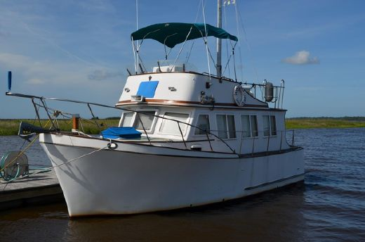 1979 Marine Trader 32 Sedan Trawler