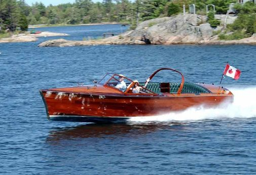 2001 Vic Carpenter Custom Gentleman's Runabout