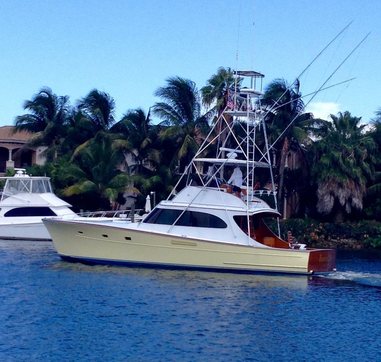 Cummins Diesel For Sale >> 1982 Merritt Custom 46' Sportfish Power Boat For Sale ...