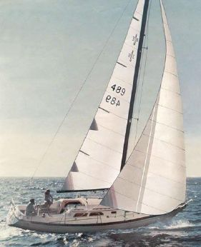 1977 Islander 36