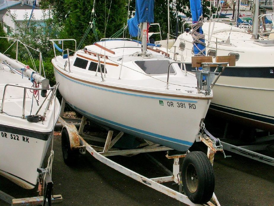 1988 Catalina Wing Keel With Trailer Sail Boat For Sale