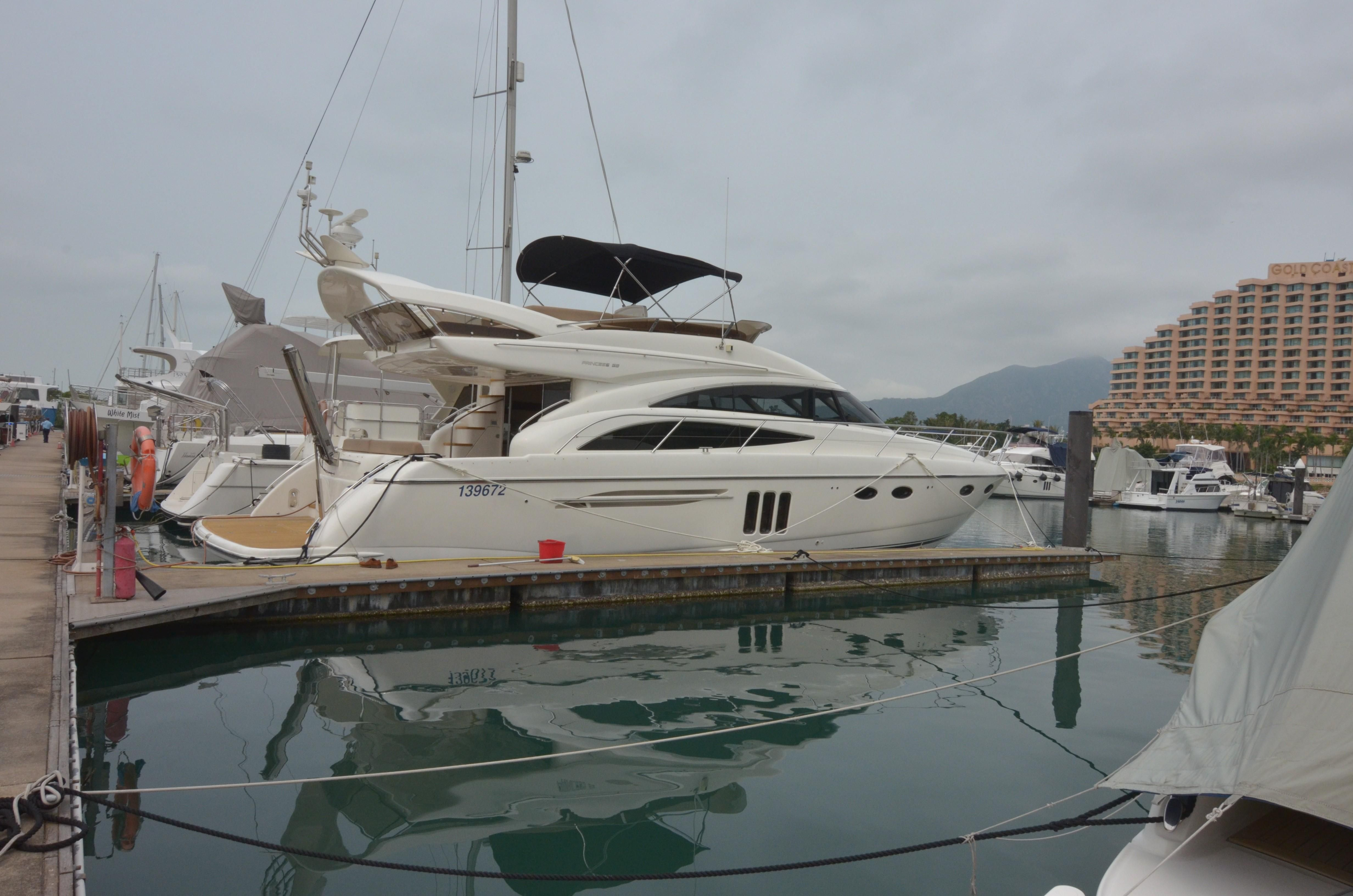 2010 Princess 58 Flybridge Power New And Used Boats For Sale