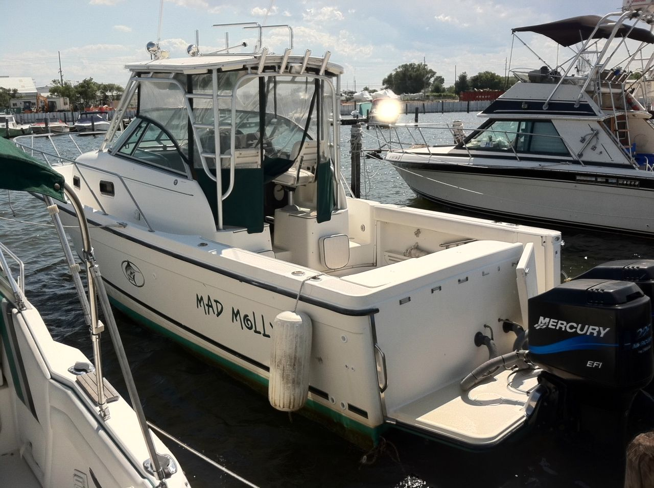 2000 Bayliner 2802 Trophy Walkaround Dx Lx Power Boat For