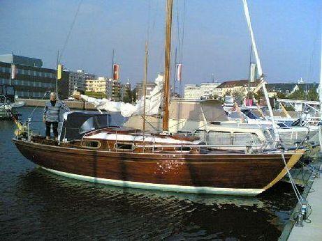 1965 Deutscher Werftbau Mahagoni Plattgatter