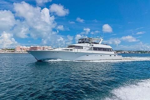 1990 Cheoy Lee 92 Pilothouse Motor Yacht