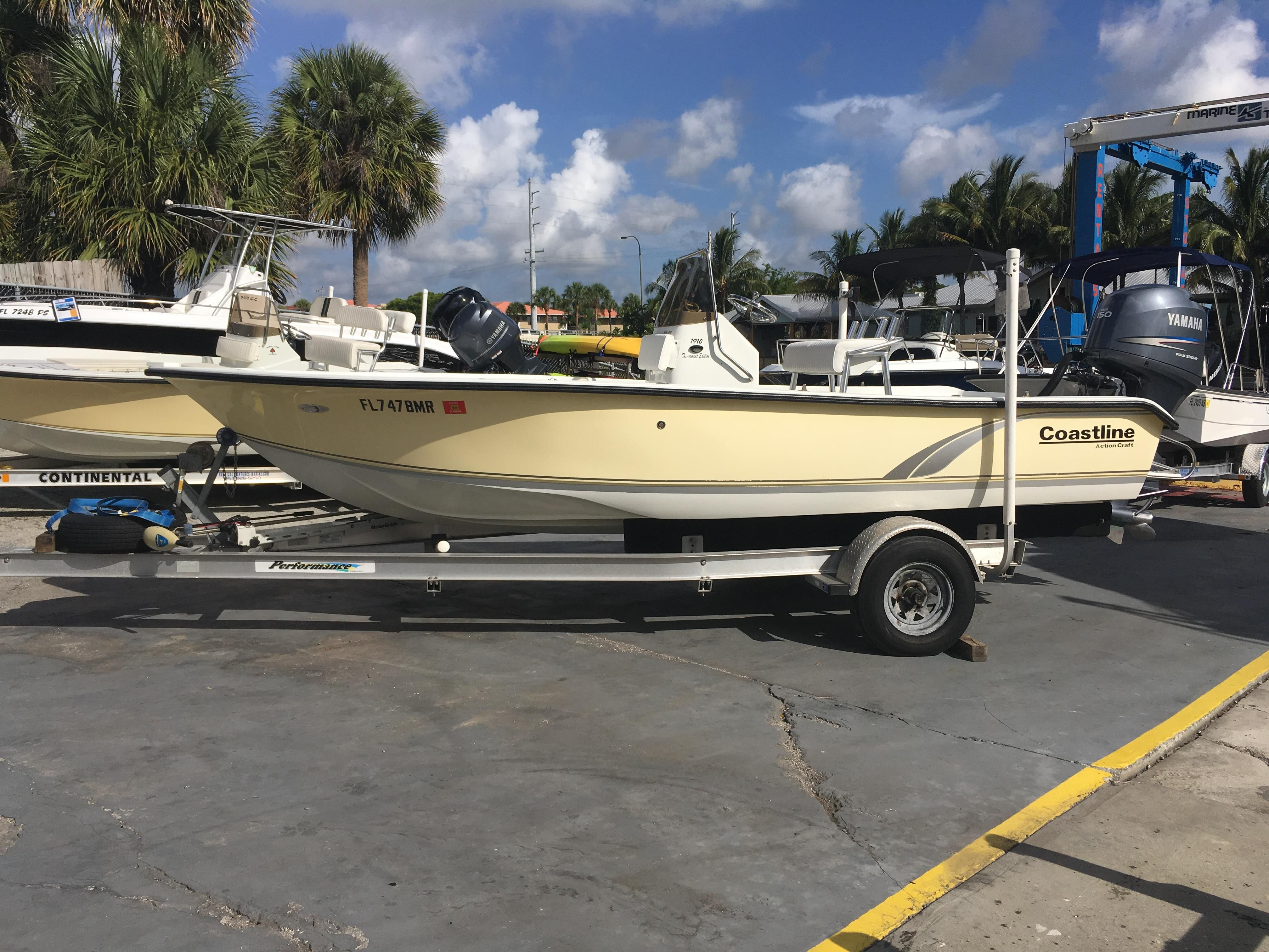2005 action craft 191ote power boat for sale www for Action craft coastal bay