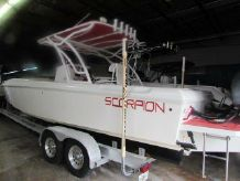 2008 Scorpion 32 Cuddy Center Console