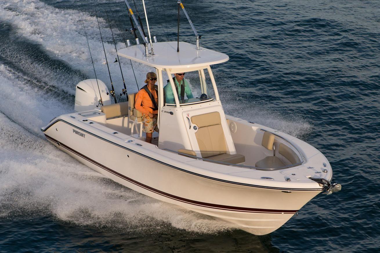 2017 Pursuit C 238 Center Console Power Boat For Sale ...