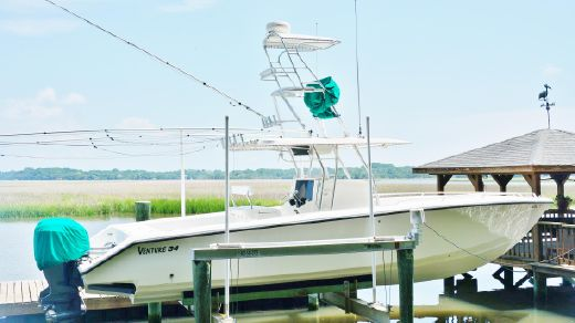 2002 Venture NO PAINT-2006 YAMAHA 250 FOUR STROKES-LOW HOURS-KEEP UNDER COVER