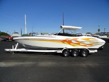2007 Nordic Powerboats 28 Heat Mid-Cabdin Open Bow