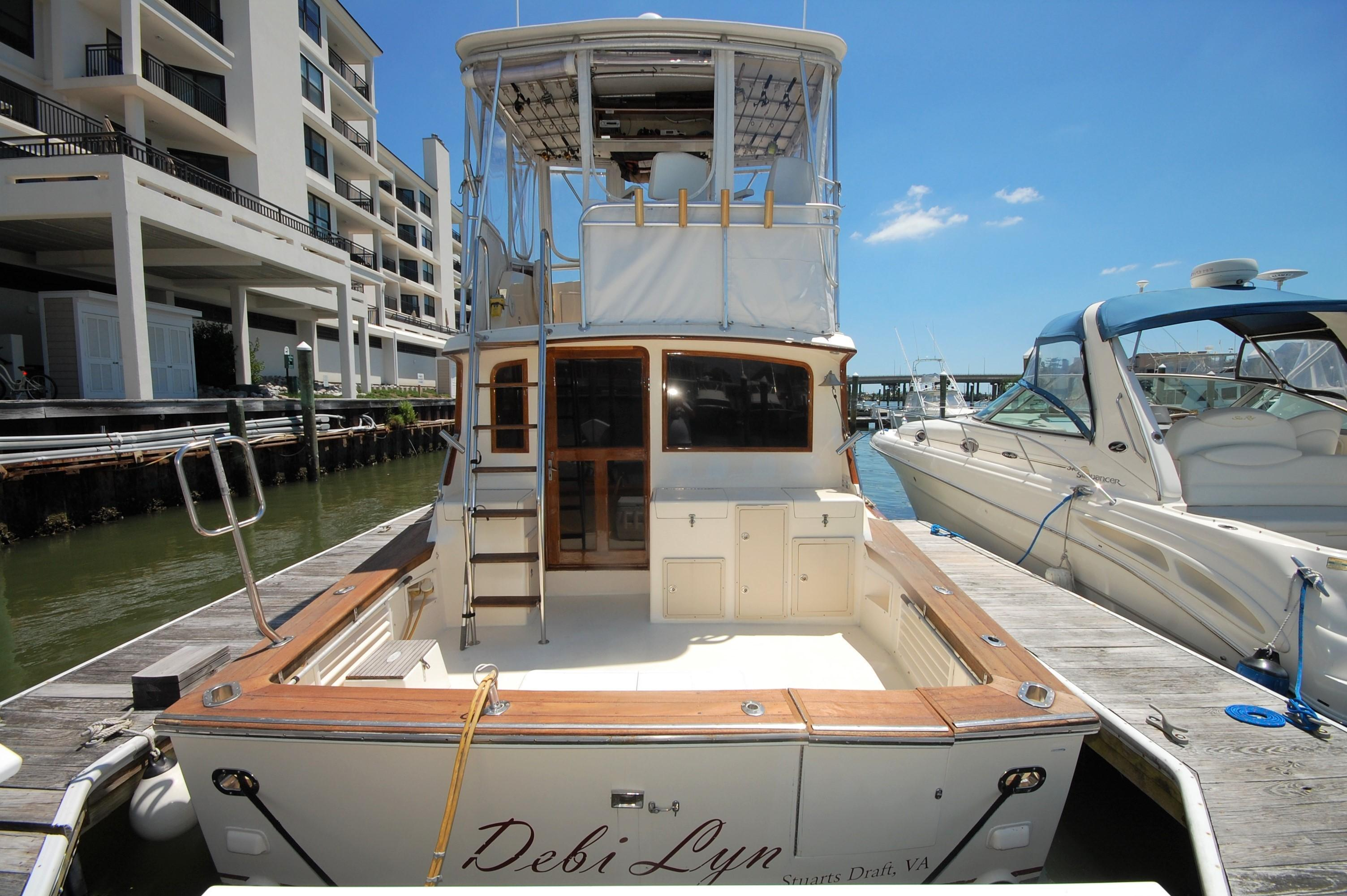 1989 Pace 40 Convertible Sport Fish Power Boat For Sale