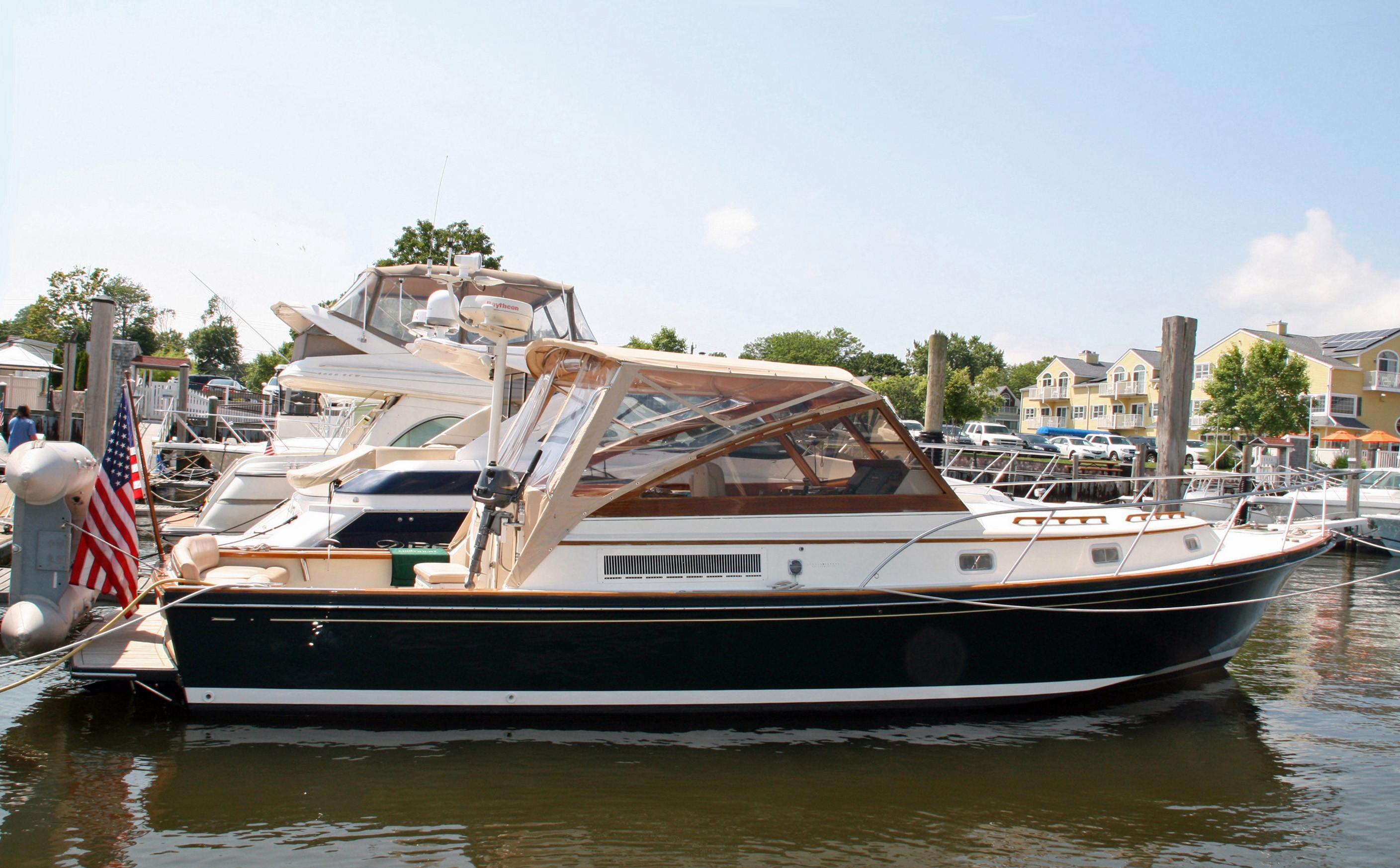 2001 Little Harbor Whisperjet 38 Power Boat For Sale Www