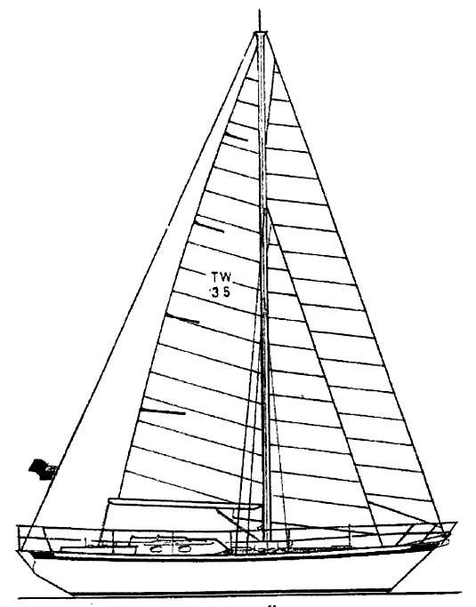 1994 Tradewind 35 Sail Boat For Sale