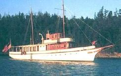 1893 Union Iron Works Classic Fantail Pilothouse