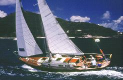 1985 G.a. Patten Boat Building Pipedream 37 Sloop