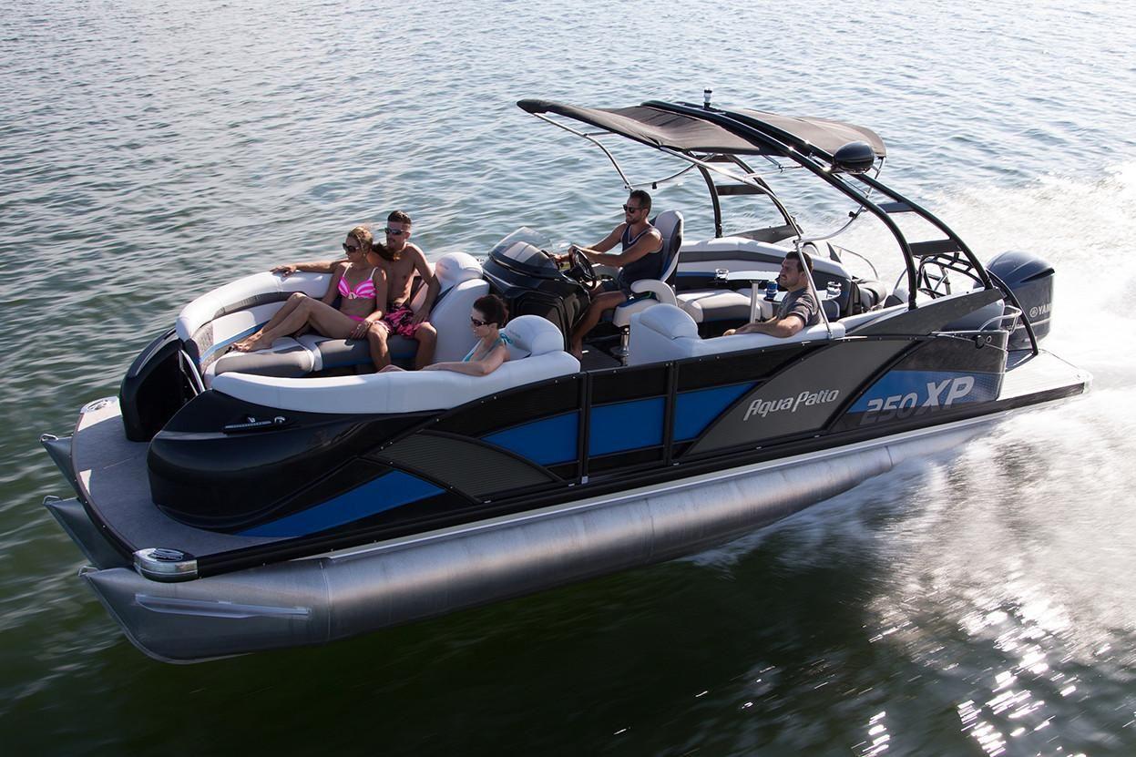 2018 Aqua Patio 250 XP Power Boat For Sale